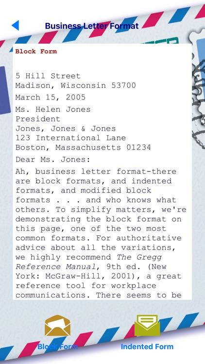 Business Letters screenshot-4