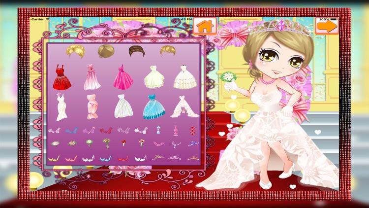 Sweety Bride Dress Up screenshot-3