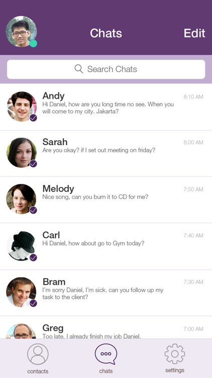 StealthChat: Encrypted Chats