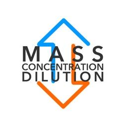 Mass Conc Dilution Conversion