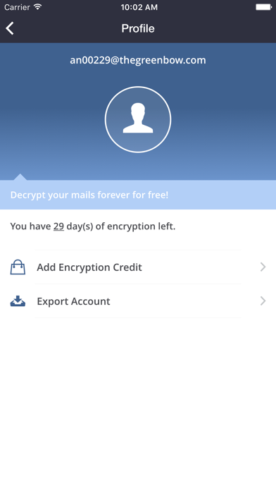 CryptoMailer email encryption™ 用于PC