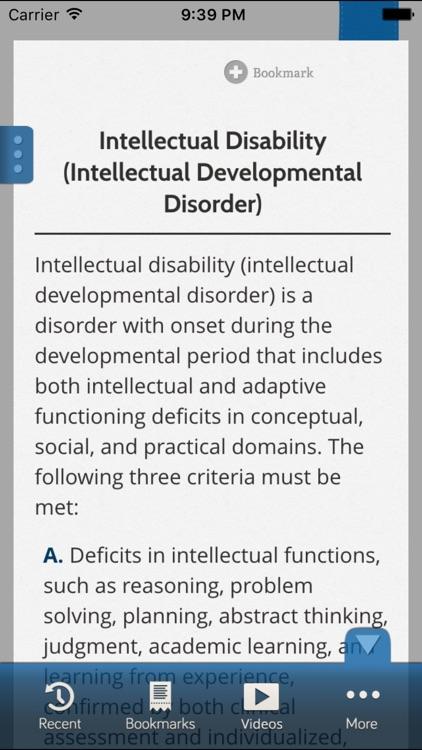 DSM-5 Diagnostic Criteria screenshot-3