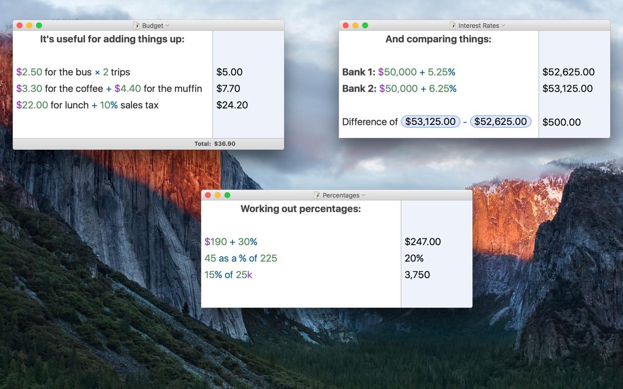 Soulver 3.5 Mac 破解版 Mac 上强大的多功能计算器