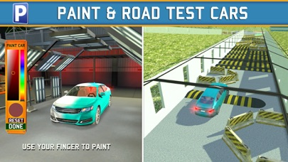 Car Factory Parking Simulator a Real Garage Repair Shop Racing Gameのおすすめ画像4