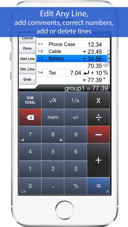 Accountant Universal Calculator