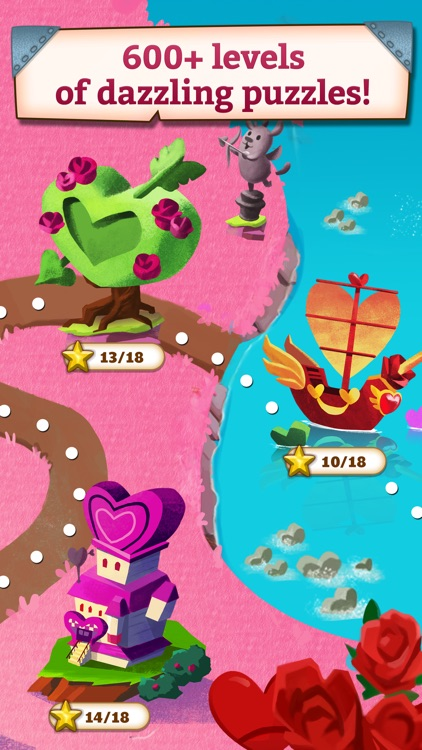 Jewel Mania: Valentine's screenshot-3