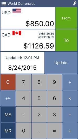 Converter Pro Unit Currency Conversion Calculator 4