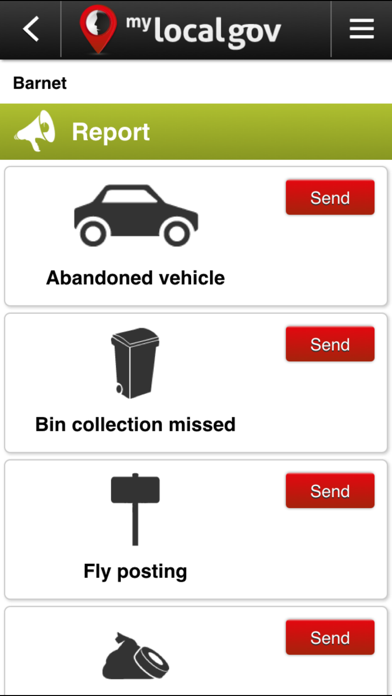 MyLocalGov - UK Council Services & Reporting screenshot four