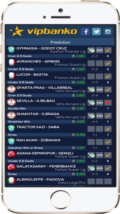 VIPBANKO - Betting Tips screenshot-3