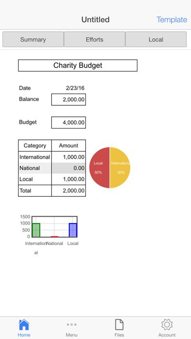 Finance Ledger Screenshots