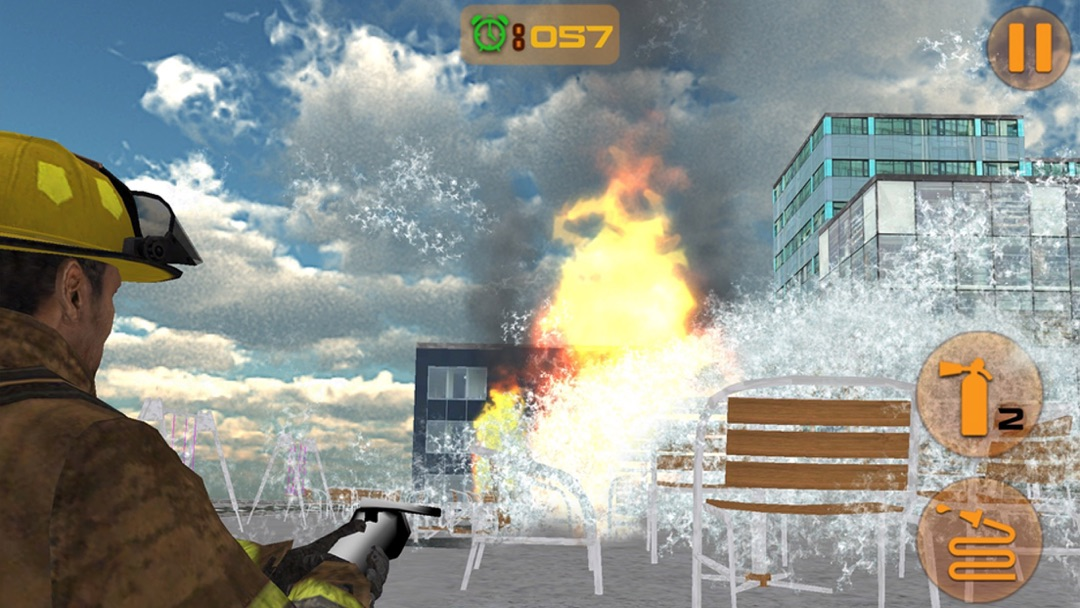 Firefighter Truck Driving Parking - Online Game Hack and