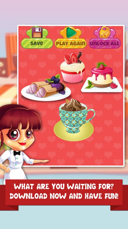 Coffee Dessert Making Salon - food maker games & candy ice cream make for kids! screenshot-4
