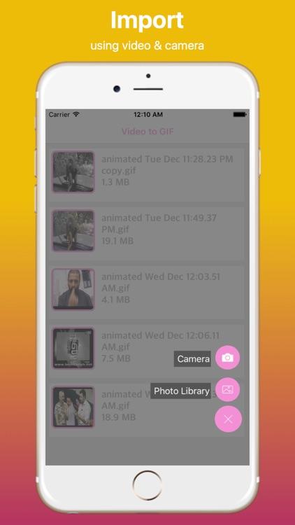 Video to GIF Converter Pro screenshot-3