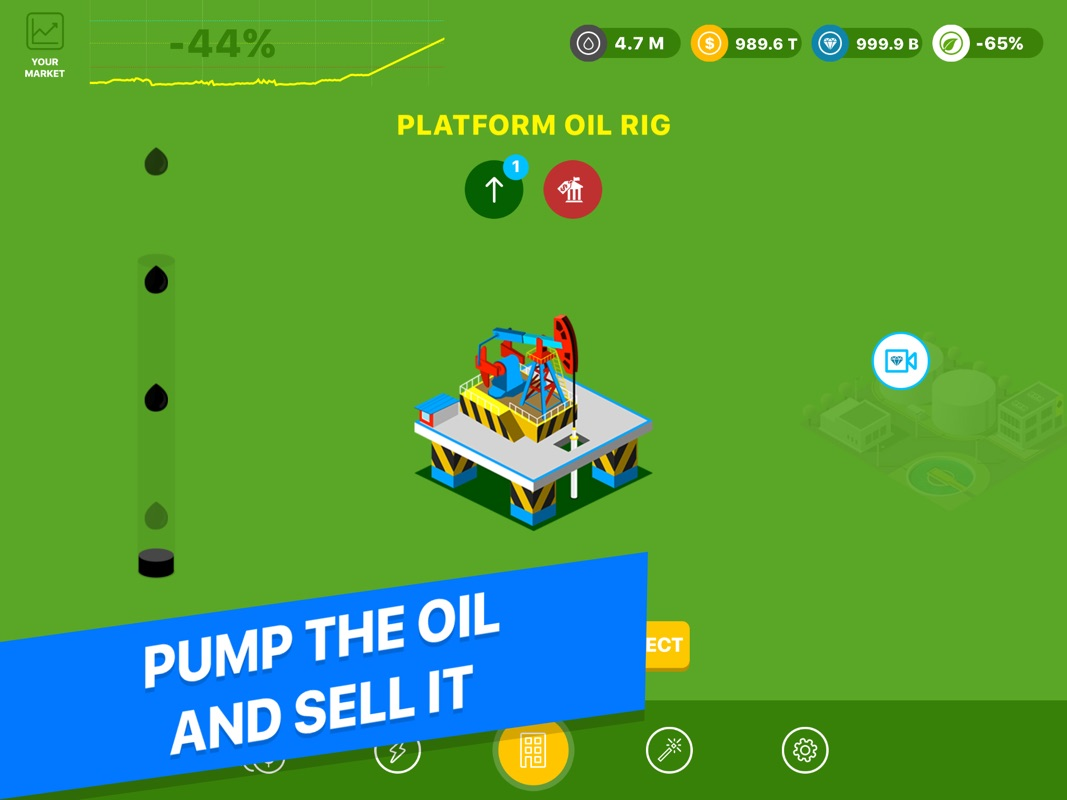 3 Minutes to Hack Oil Capitalist - Addicting Clicker Game To