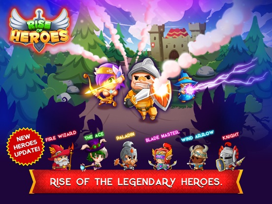 Screenshot #1 for Rise of Heroes