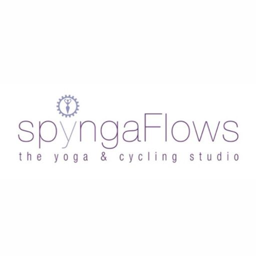 spyngaFlows the yoga and cycling studio icon