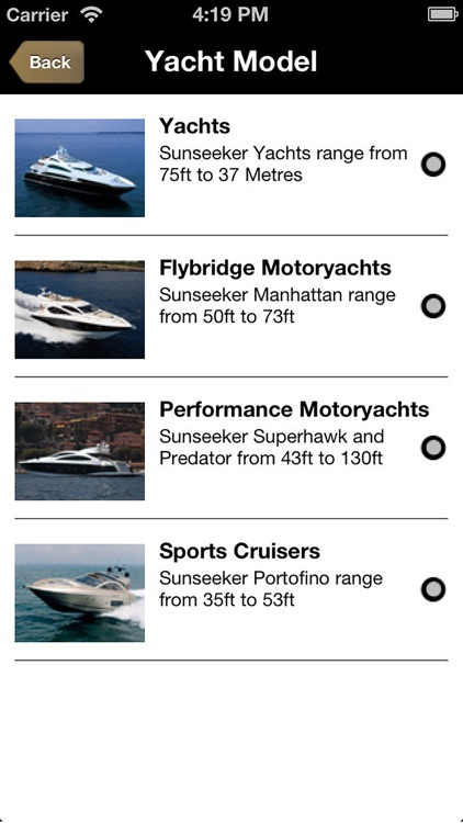 Sunseeker Charters screenshot-2