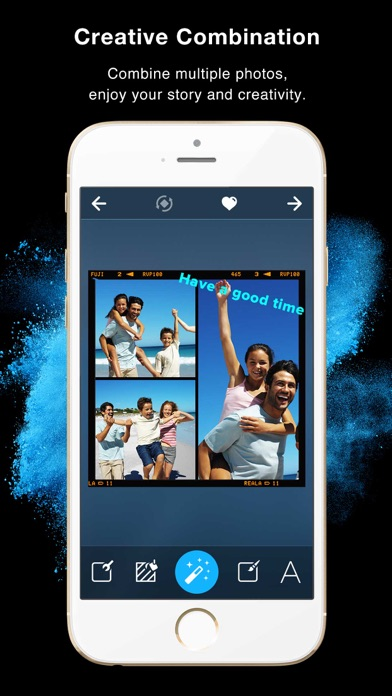 Screenshots of Framatic - Photo Collage and Pic Frame Stitch for Instagram FREE for iPhone
