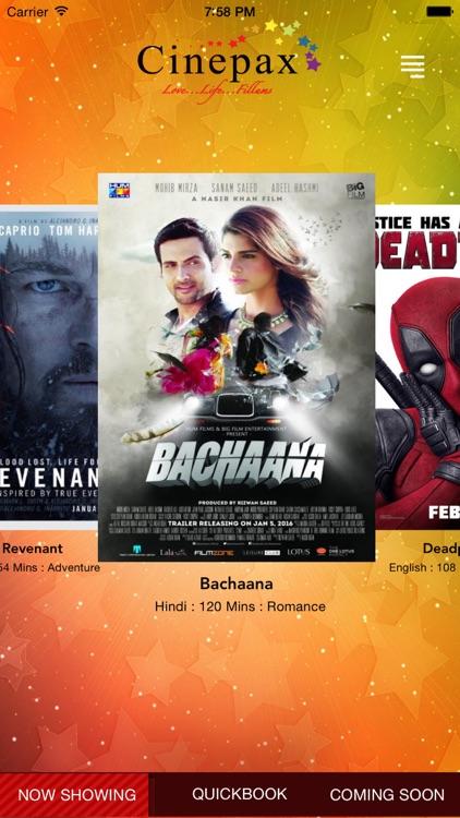 Cinepax - Movie Tickets