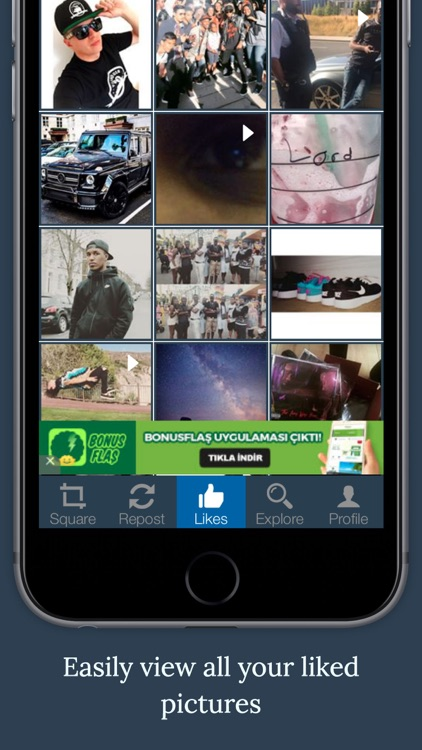 T2G Repost for Instagram- Repost & Edit Pictures/Videos screenshot-3