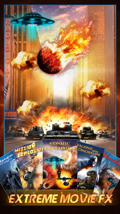 Extreme Movie FX - Hollywood Style Special Effect.s Creator & Super.impose Sticker Editor