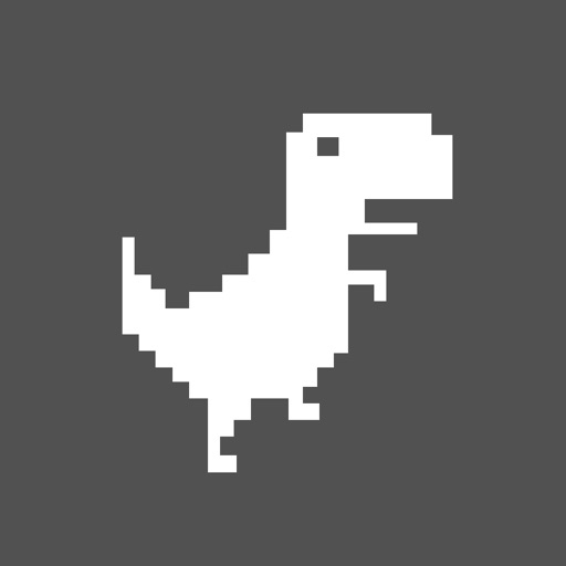 Jump Steve Jump - 8-bit Dinosaur Journey Widget Game