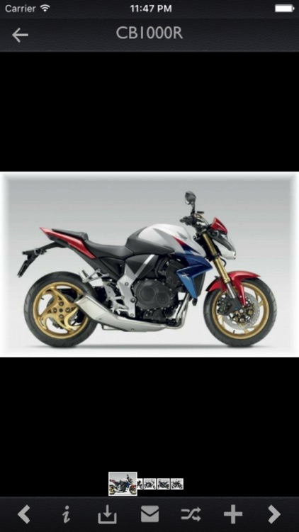Honda Motorcycles Specs screenshot-4