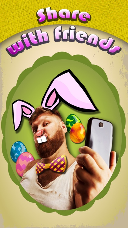 Easter Bunny Yourself - Holiday Photo Sticker Blender with Cute Bunnies & Eggs screenshot-4