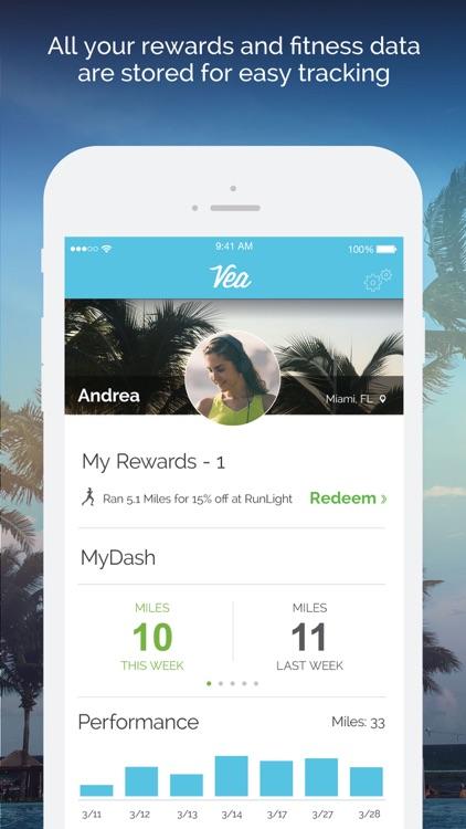 Vea Fitness: Run, Bike & Gym Tracking & Rewards screenshot-4