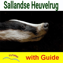 Sallandse Heuvelrug National Park - GPS and outdoor map with guide