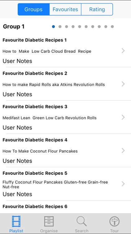 Favourite Diabetic Recipes