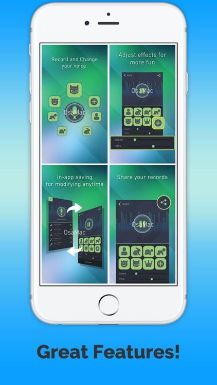 VoiceChange-harmony screenshot-3