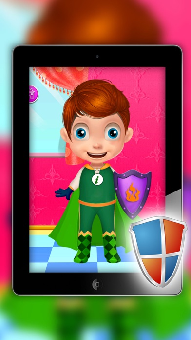 Super Girls - Dress up and make up game for kids who love