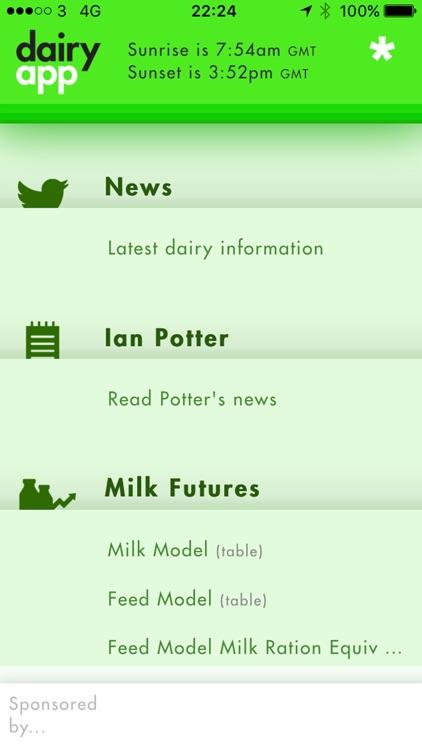 Dairy App