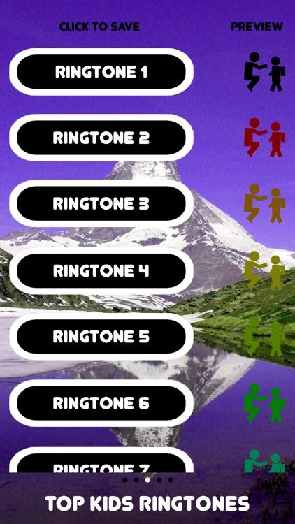 Free Top Kids Ringtones