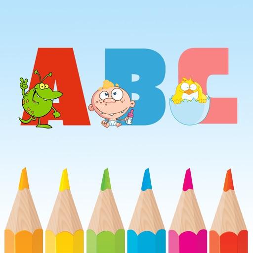 Coloriage Magique Bebe.Alphabet En Anglais Coloriage Magique Enfant Jeu Educatif Jeux De