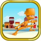 Ninja Warrior Runner - The World of Knight Jump Free Game icon