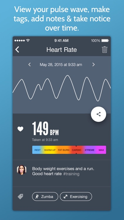 Instant Heart Rate: Heart Rate & Pulse Monitor app image