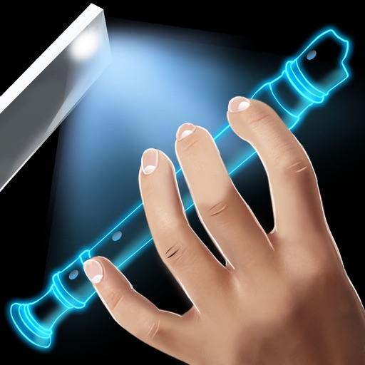 Real Flute Hologram Simulator