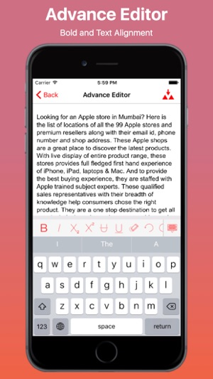 ‎iText and PDF Editor Pro