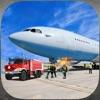 レアル空港トラック運転手:緊急消防士救助