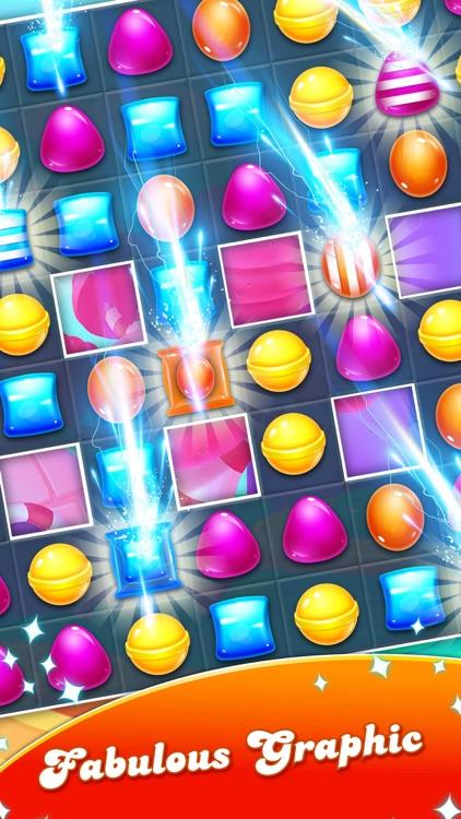 Candy Gems match 3 puzzle