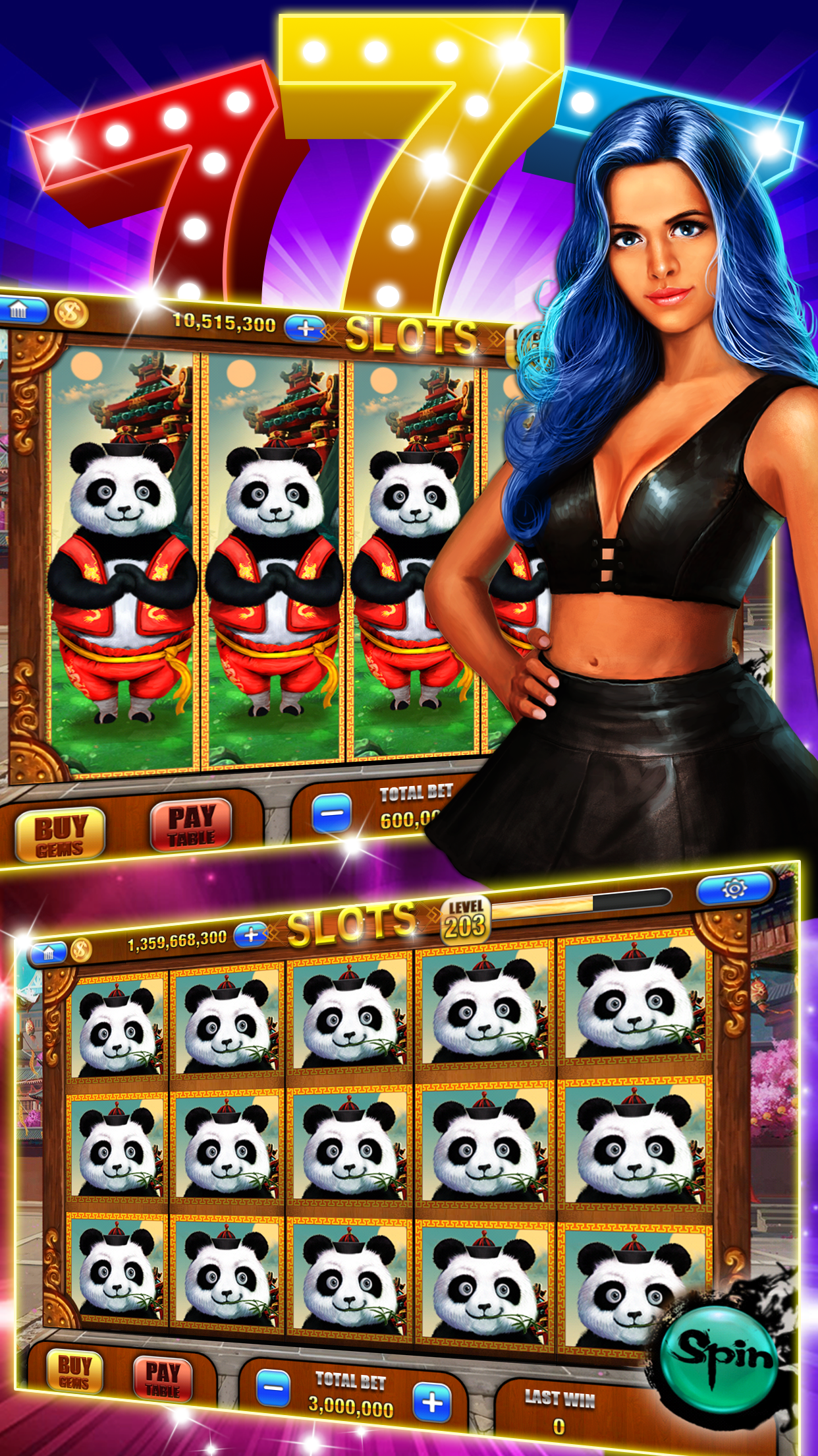 Vegas Slot Machines : Free Slots Casino With Huge Rewards Screenshot