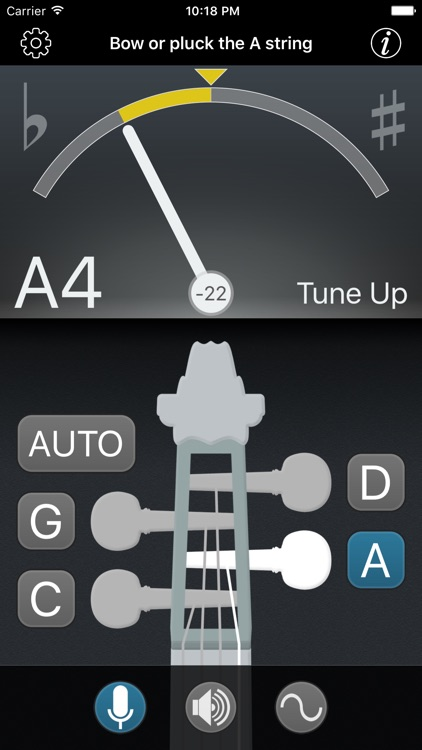 Precision Viola Tuner screenshot-1