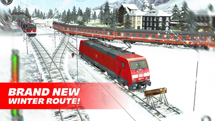 Train Driver Journey 8 - Winter in the Alps screenshot-0