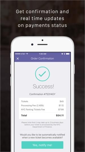 Tickethero Ny Parking Tickets On The App Store