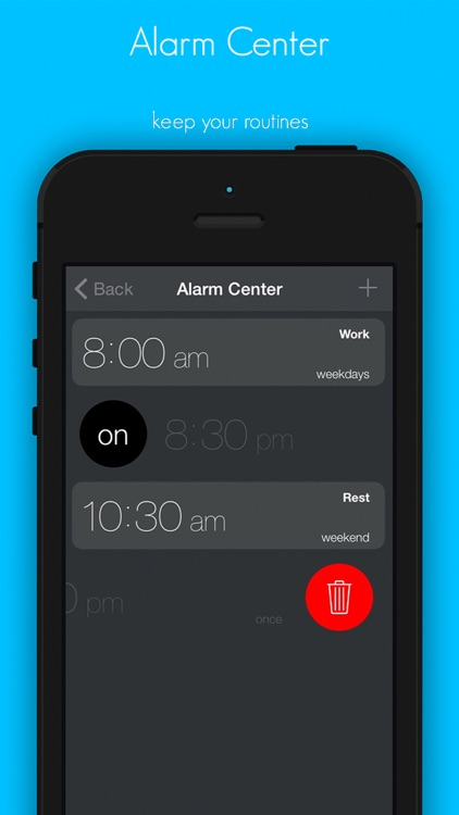 WakUp Alarm Clock - never been so easy to wake up