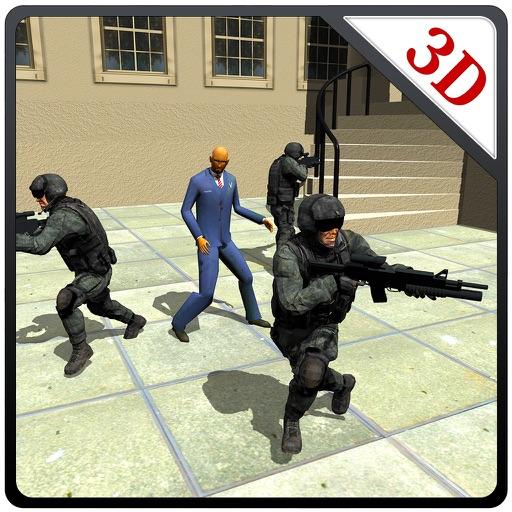 陸軍シューター社長の救助 - 極端な射撃シミュレーターのゲーム