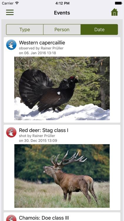Deermapper - The hunting diary