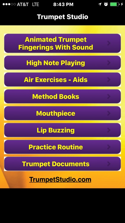 Trumpet Studio - Trumpet Fingering - Articles - Reference